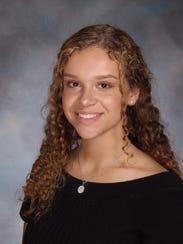 Victoria Prokopenko, Grade 9, Freehold Township High