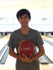 Evan Duenas, 12, claimed the first Guam National Bowling