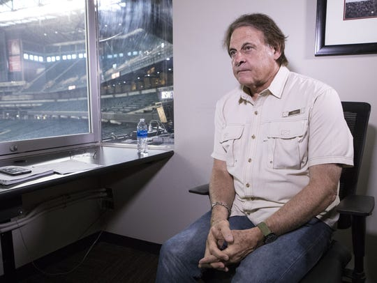 Diamondbacks Chief Baseball Officer Tony La Russa speaks