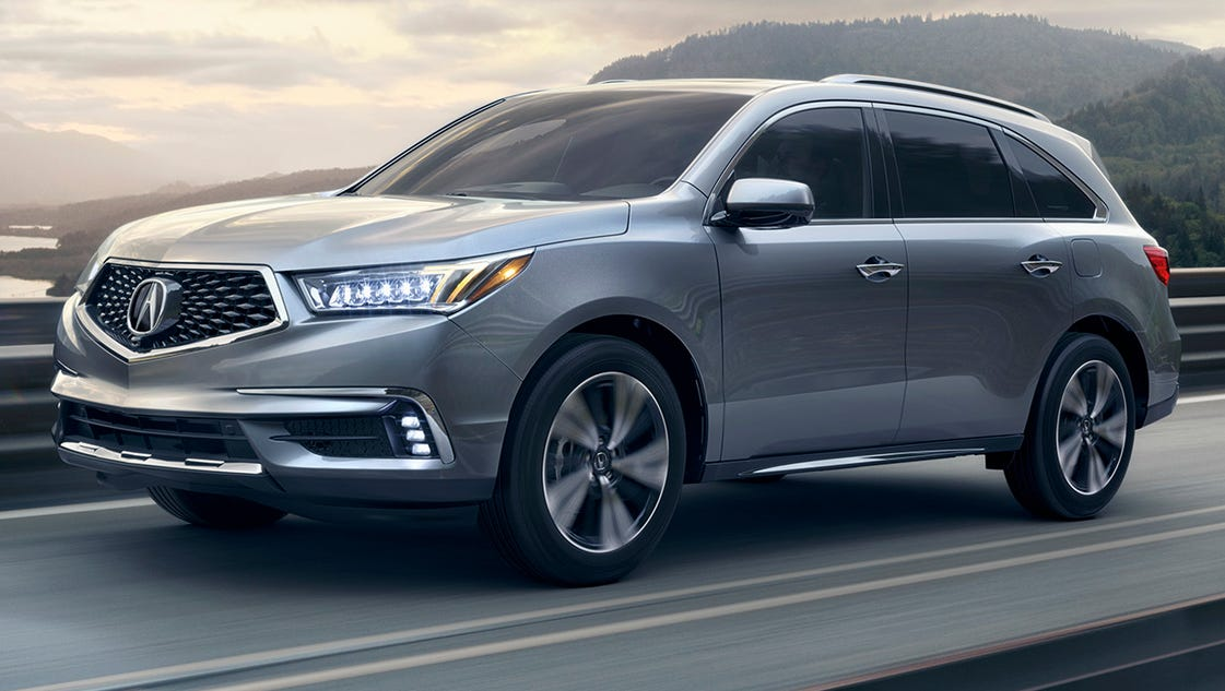 review upgrades keep acura mdx crossover in fast lane. Black Bedroom Furniture Sets. Home Design Ideas