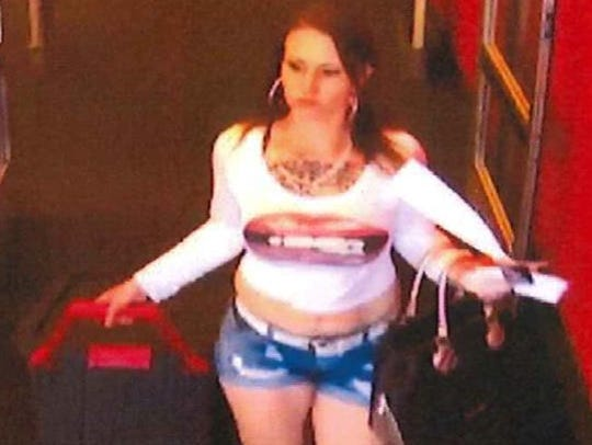 Surveillance footage from the Target store showed the
