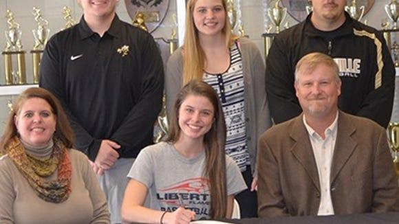 Hayesville senior Stephanie Patton has signed to play