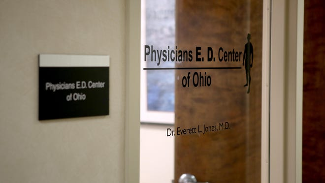 Physicians E.D. Center of Ohio in Sharonville is among a chain of erectile dysfunction clinics that is headed by a fraud convict, an Enquirer investigation has uncovered. The Enquirer/Meg Vogel