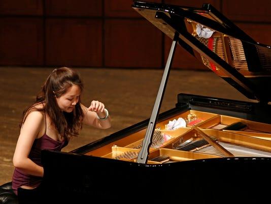 a piano competitor
