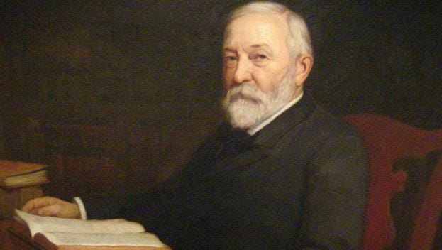 Benjamin Harrison was President of the United States when South Dakota was granted statehood in 1889.