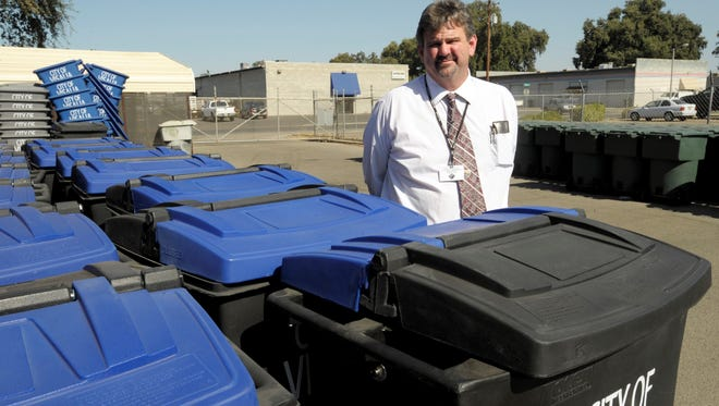 Adam Ennis, Visalia Public Works director, will take over as Exeter city manager at the end of the month.