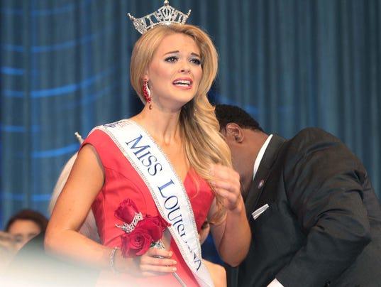 Miss Louisiana Crowned
