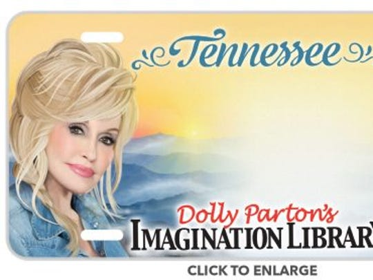 Dolly Parton's license plate is available for pre-order now.