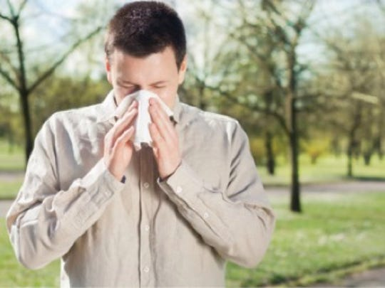 Greenville's environment means pollen, and allergies,