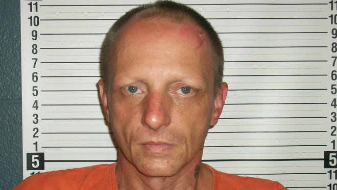 Larry Borders Jr., 41, was indicted on two counts alleging methamphetamine manufacturing.
