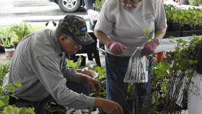 The Cheatham County Master Gardeners participated in last year's first  River and Roots Festival in Ashland City.