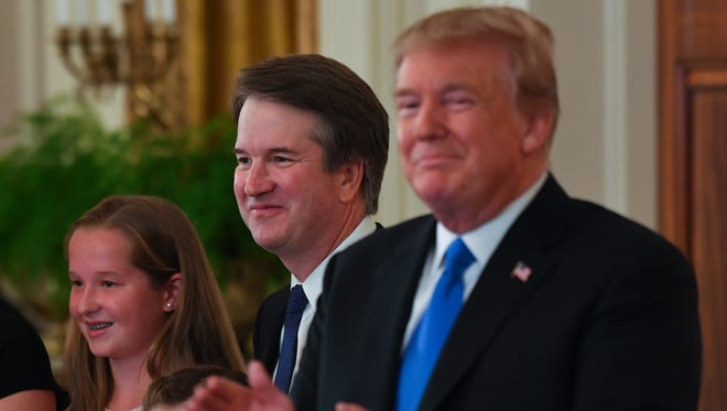 President Trump nominated Brett Kavanaugh to replace Justice Anthony Kennedy on the Supreme Court during a prime-time address from the White House.