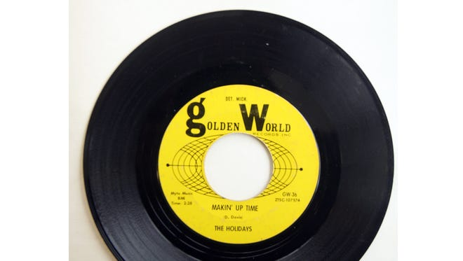 """The Holidays' """"Makin' Up Time,"""" released by Detroit's Golden World Records."""