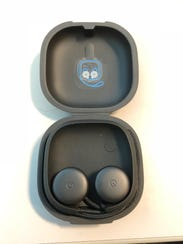 Pixel Buds charge in their case