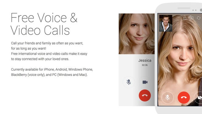 free international calls from pc to phone