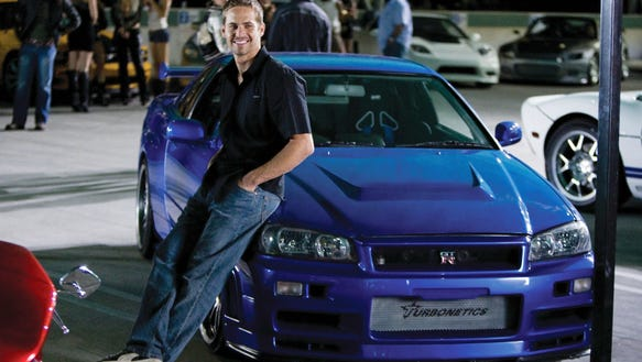 """Paul Walker had a long run with the """"Fast and Furious"""""""