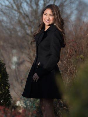 Miss Delaware Outstanding Teen Grace Otley at her Hockessin home.