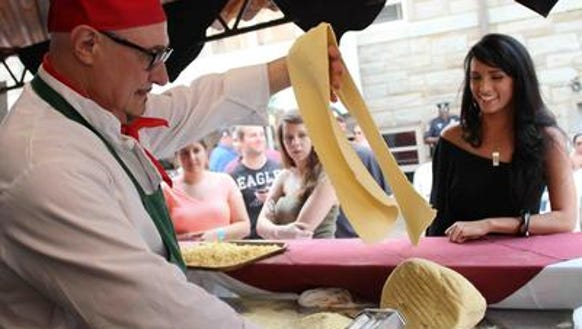 In 2013, Chef Vincenzo Carrieri- Russo showed fairgoers