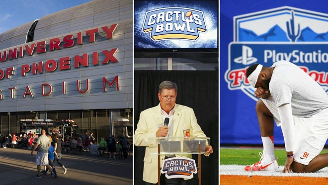 There's plenty of sports to see in Arizona through Christmas and New Year's.
