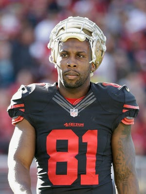 San Francisco 49ers wide receiver Anquan Boldin in 2015.