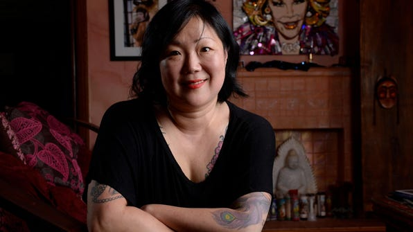 Margaret Cho, shown at her home last fall.