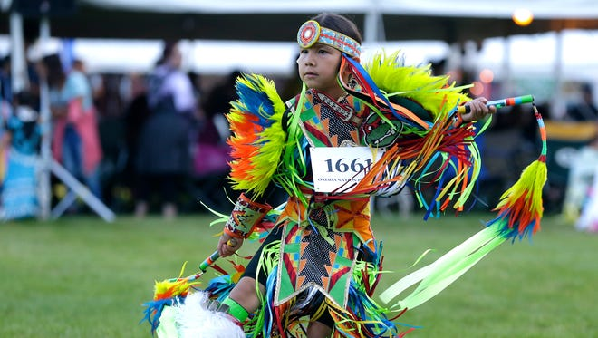 The 45th annual Oneida Pow Wow is being held June 30 to July 2, 2017, in Oneida. The event includes dance competitions and a variety of vendors.