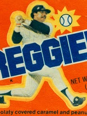 The Reggie! candy bar, circa 1978.