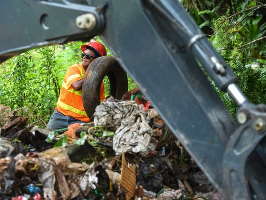 In this March 14 file photo, Department of Public Works