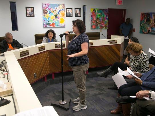 Renee Castleberry, a first-grade teacher at Kuban Elementary,