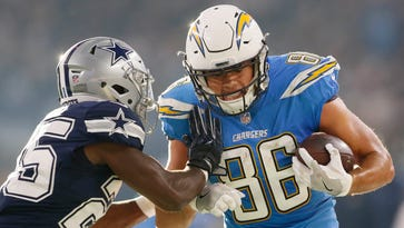 Chargers lose tight end Hunter Henry for 2018 season to torn ACL