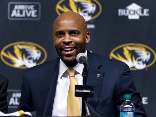 Missouri head coach Cuonzo Martin.