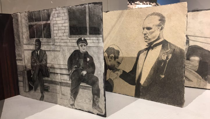 Artists raise sculptures from old book pages in Morris Museum exhibition
