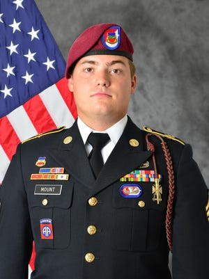 Sgt. Bryan Mount served as a cavalry scout in the 82nd Airborne Division's 1st Squadron, 73rd Cavalry Regiment, 2nd Brigade Combat Team.