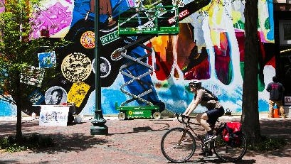 The Main Street Busking Challenge Oct. 28 and Nov. 4 is a new effort to animate Main Street.
