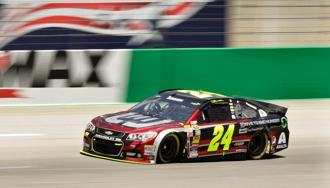 If Jeff Gordon wins at Kentucky Speedway on Saturday night, he will have victories at all the active NASCAR tracks.