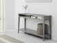 A console table in Ikea's Liatorp series.