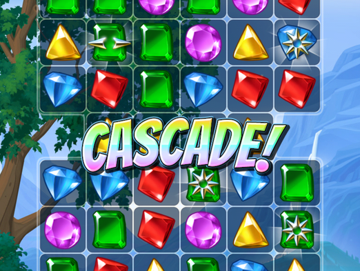 Big fish games provides two reasons for you to play just for Cascade big fish game