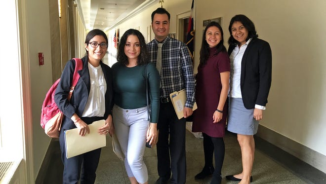 Norma Hartell, first on the left, recently received a fellowship with the Hispanic Access Foundation and is now among the advisers on the Latino Heritage Advisory Group, which advocates for the preservation of sites that are important to the Latino narrative in the United States.