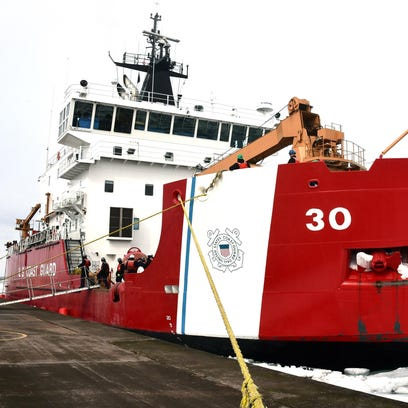 The Coast Guard operates nine icebreaking-capable cutters