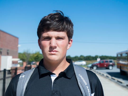 """Stephen Bontempo, 14, Bishopville, Stephen Decatur. """"The government should put a stop to ISIS. They took it too far with the beheadings."""""""