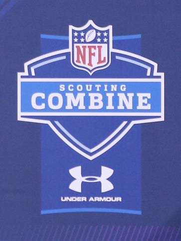 The NFL scouting combine will be held Feb. 23-29 in