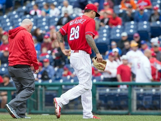 MLB: Chicago Cubs at Philadelphia Phillies
