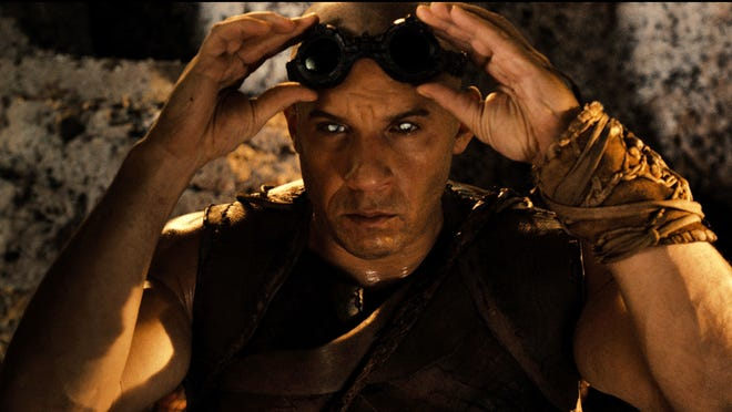 Vin Diesel once again plays a sci-fi anti-hero in the title role of 'Riddick.'