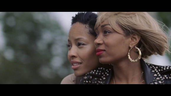 """Actresses Tracey Heggins (left) and Zaraah Abrahams co-star in """"Black Girl in Paris,"""" a film by Wilmington native Kiandra Parks now available through HBO."""