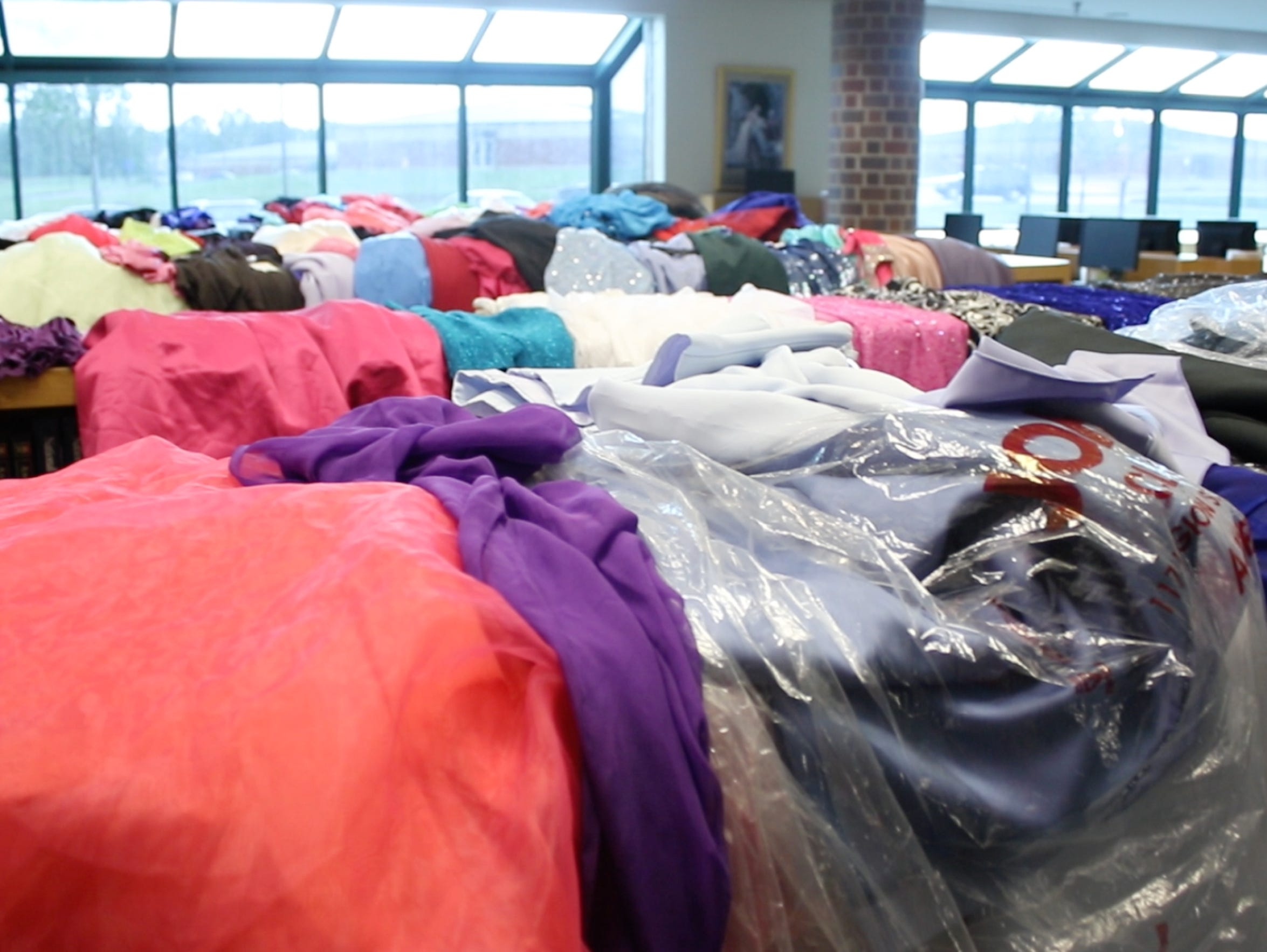 Prom dresses donated to Teens4Teens for students in