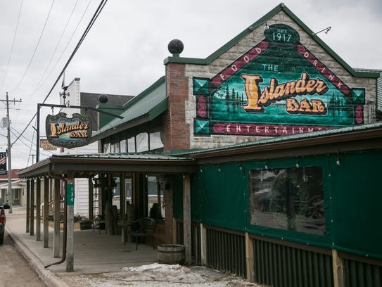 The Islander Bar and Grill in Hessel, in Michigan's