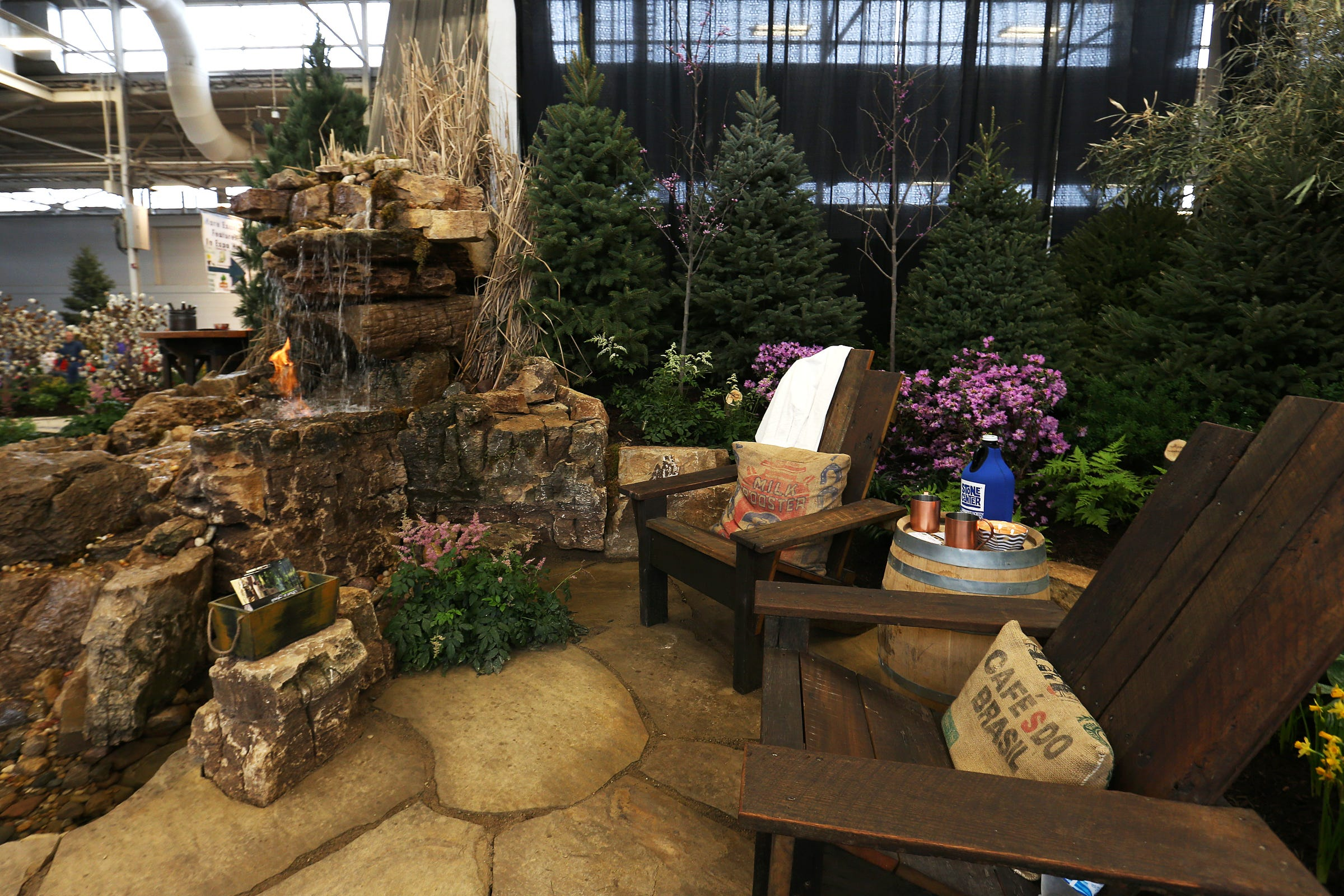 Part Of A Scene Designed By Start To Finish Landscaping,
