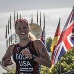 Former Drury two-sport athlete Erin Dolan is one of 12 members of the U.S. national triathlon team.