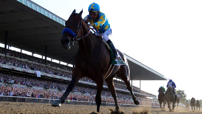 Things are only getting better for American Pharoah.