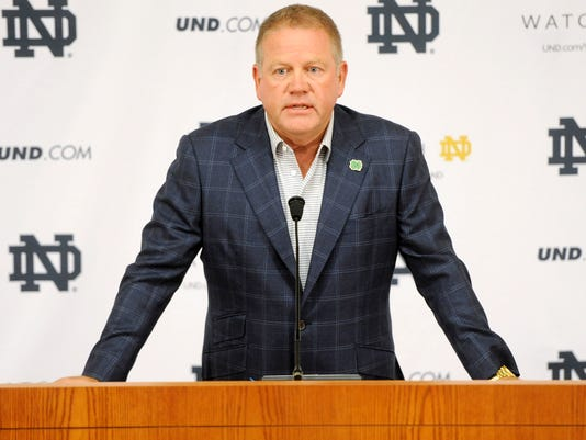 Notre Dame Academic Misconduct Football